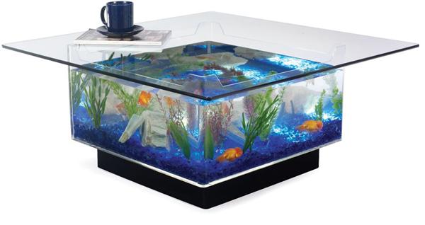 Elegant Aquarium Coffee Table