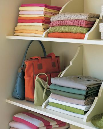Closet Shelf Separators