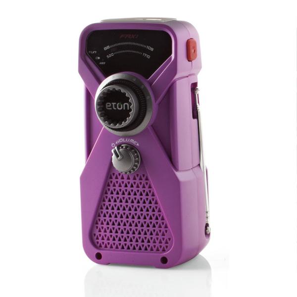 Hand-Crank Flashlight & Radio