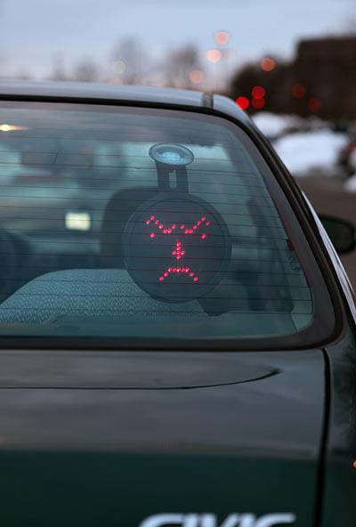 Drivemocion Car Sign