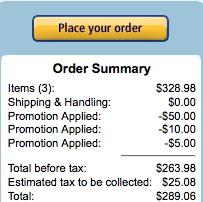 Amazon Window Shopping