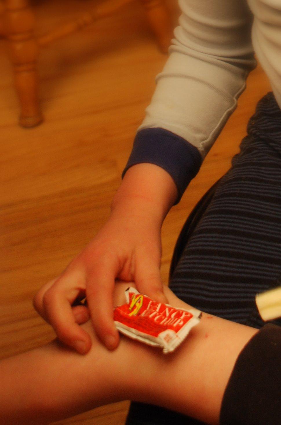 Ketchup Ice Packs