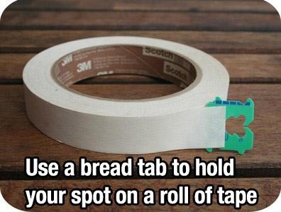 Tape End Holder