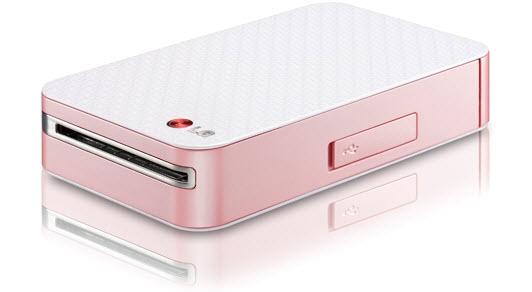 LG Pocket Photo Mini Mobile Printers