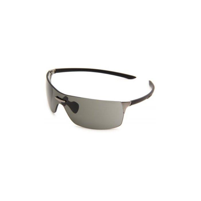 Tag Heuer Squadra Sport Sunglasses, Black Frame/Grey Lens, One Size