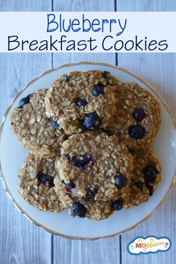 Blueberry Breakfast Cookie Recipe