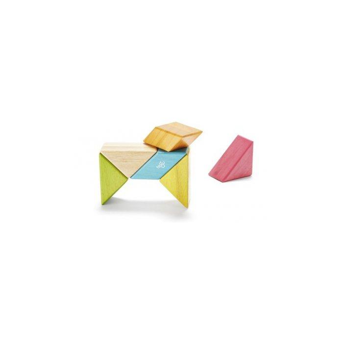 Tegu Tints Pocket Pouch Prism, 6 Pieces W/ Felt Pouch