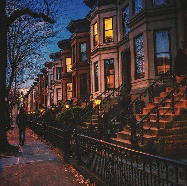 Town, Neighbourhood, Sky, Home, Urban area,