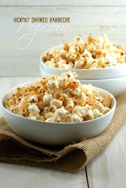 Hickory Smoked Barbecue Popcorn