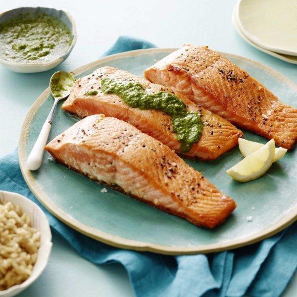 fish, food, dish, produce, plant,
