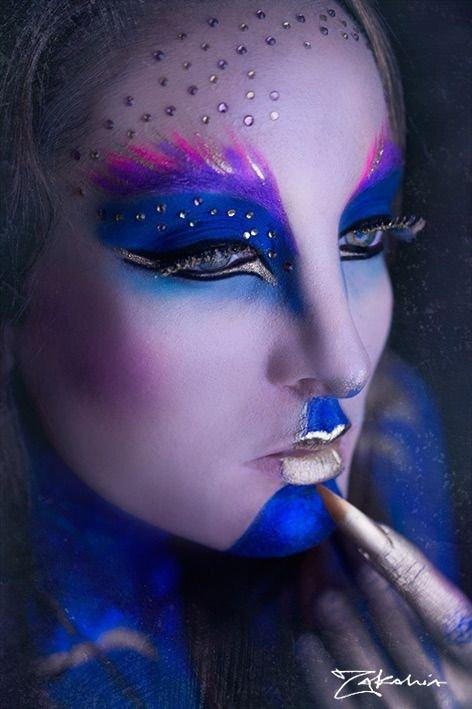 Photoshoot Face Paint Ideas