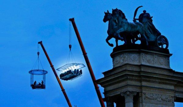 Dinner in the Sky, Brussels, Belgium