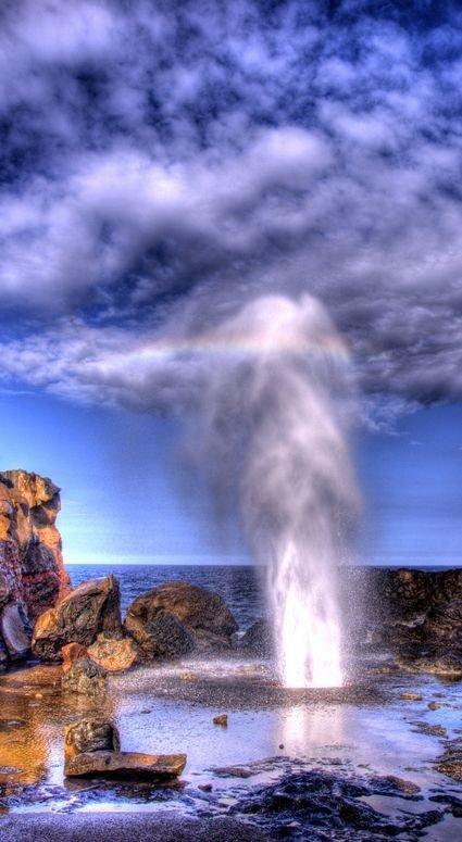 The Nakalele Blowhole, Maui,