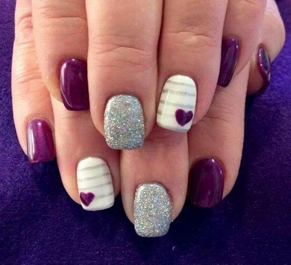 Via Nail Ideas | Beauty Tutorials - 24 Fancy Nail Art Designs That You'll Love Looking At All Day Long