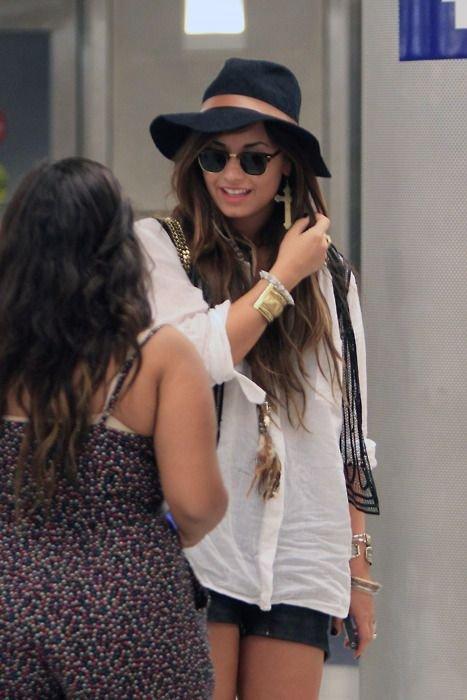 Demi Lovato Does It Street Style