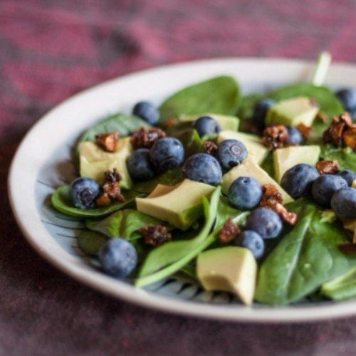 Crunchy Blueberry Avocado Salad