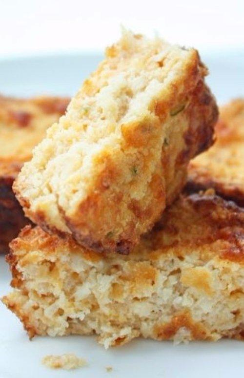 Jalapeno and Cheddar Cauliflower Muffins