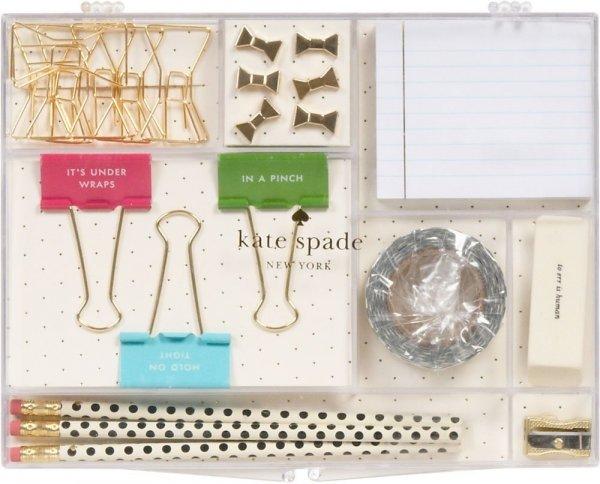 Kate Spade Home Desk Organization Tackle Box