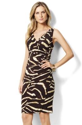 Komarov Jersey Wrap Dress