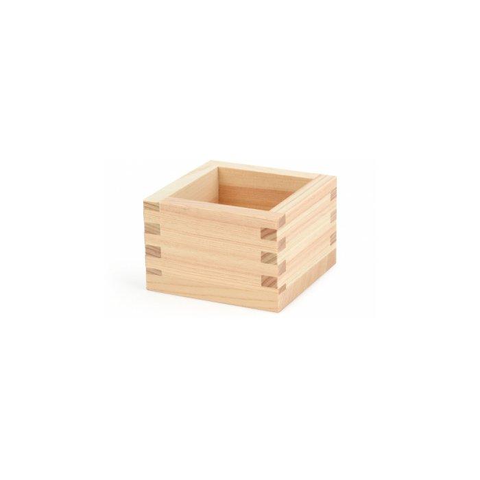Hinoki Sake Box, Set of 4, Made in Japan