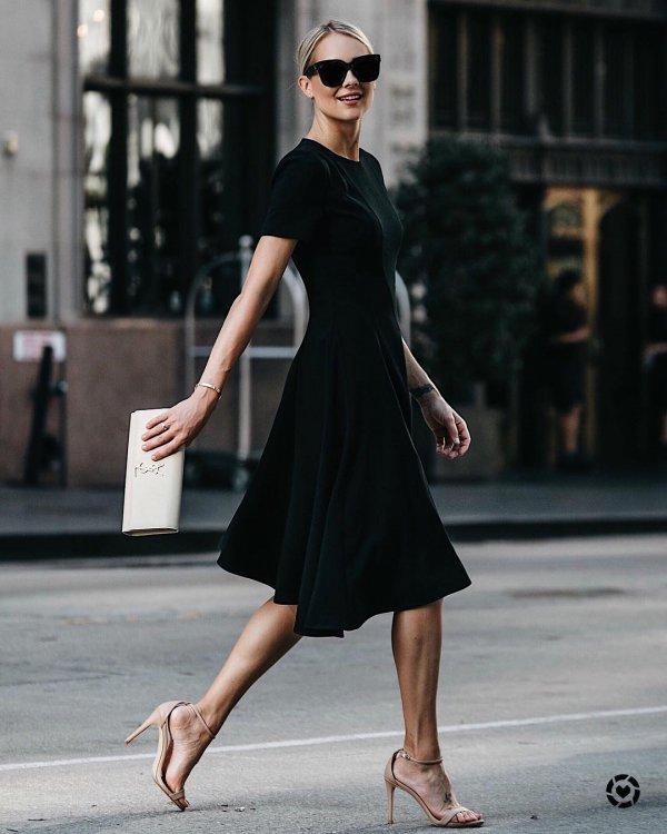 fashion model, little black dress, dress, shoulder, supermodel,