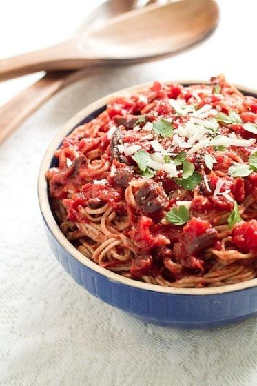 food, dish, produce, spaghetti, vegetable,
