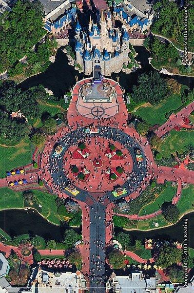 The Magic Kingdom. Florida, USA