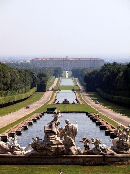 Palace of Caserta,monument,waterway,reservoir,bridge,