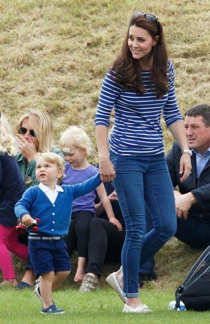 Running around with Prince George