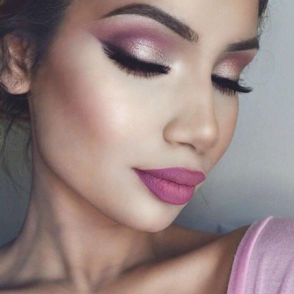 color, eyebrow, pink, purple, violet,