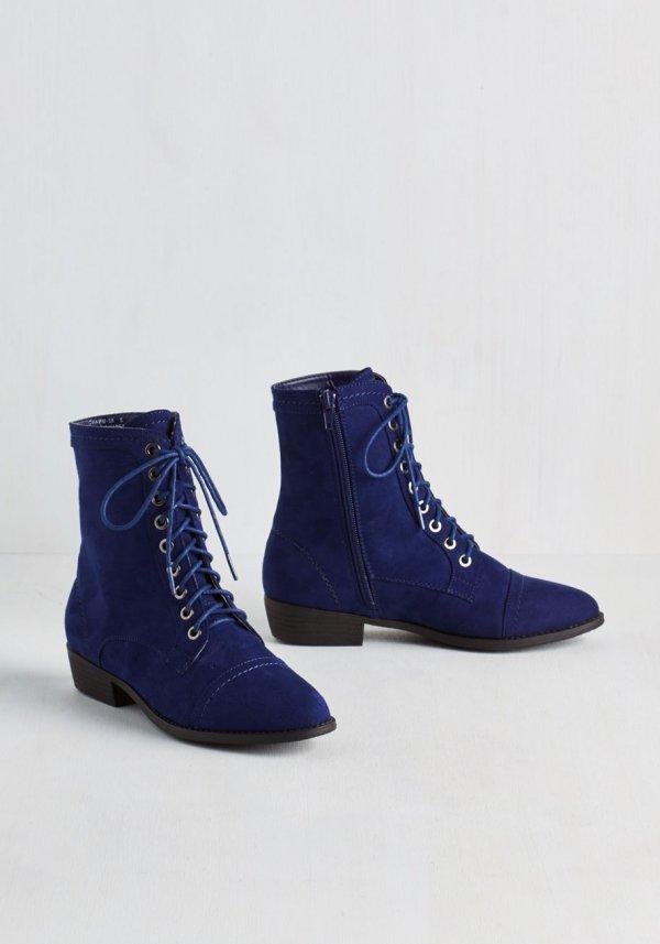 I Want Blue Boots Too!