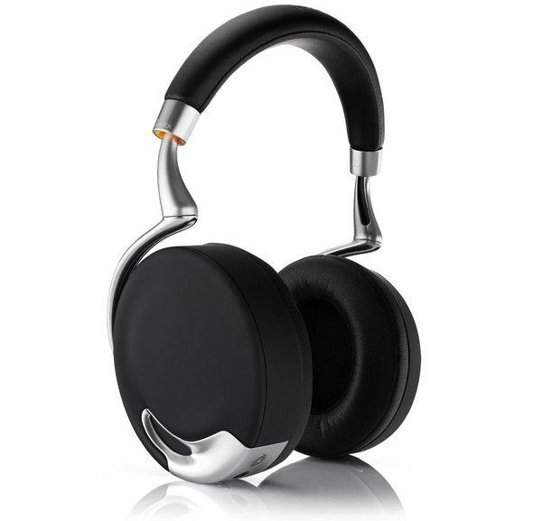 Zik Wireless Noise Cancelling Headphones, Black Gold