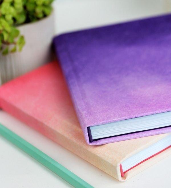 DIY Ombre Journals