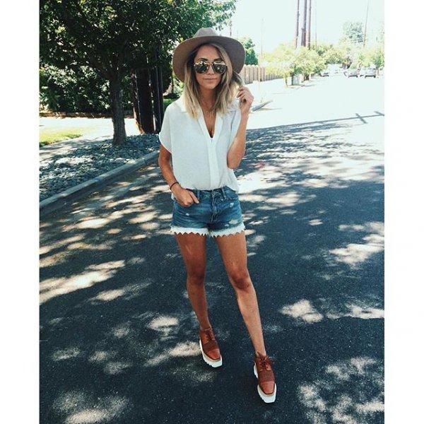 clothing, footwear, denim, shorts, jeans,
