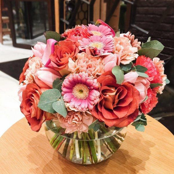 flower arranging, flower bouquet, flower, pink, plant,