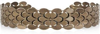 Roberto Cavalli Scale Effect Metal Waist Belt