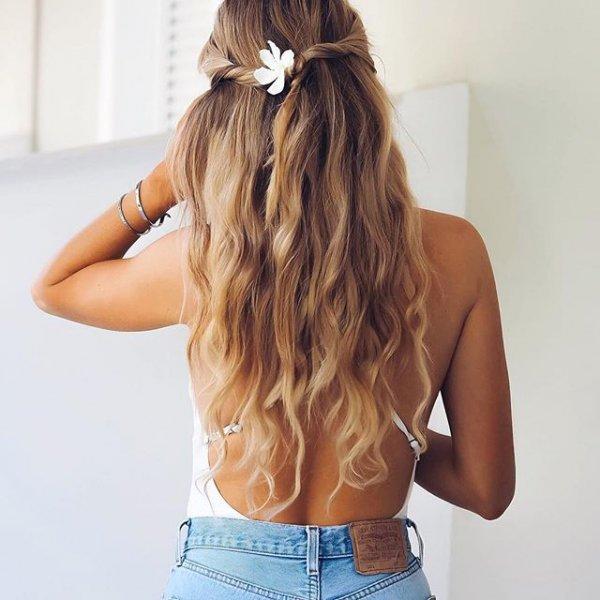 clothing, hair, hairstyle, long hair, brown hair,