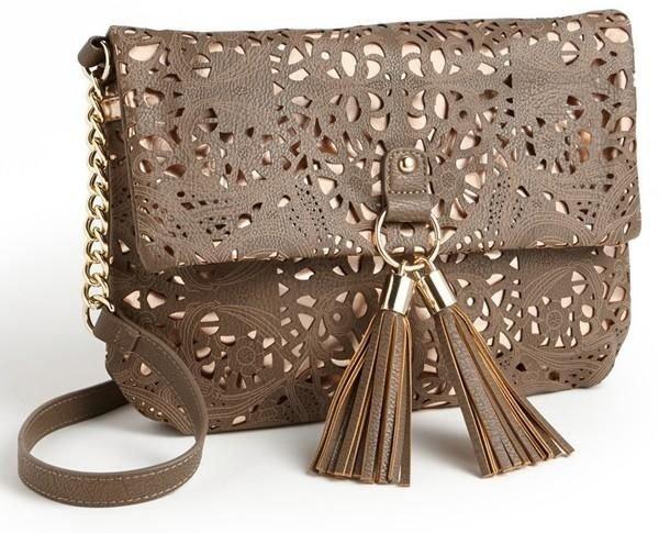 Rich Brown Cross-body Bag