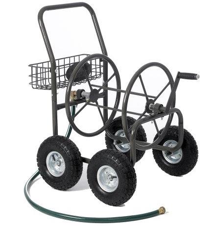 Garden Hose on Wheels
