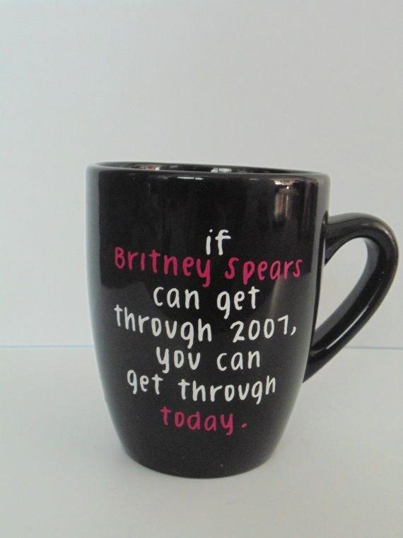 Britney Spears Mug