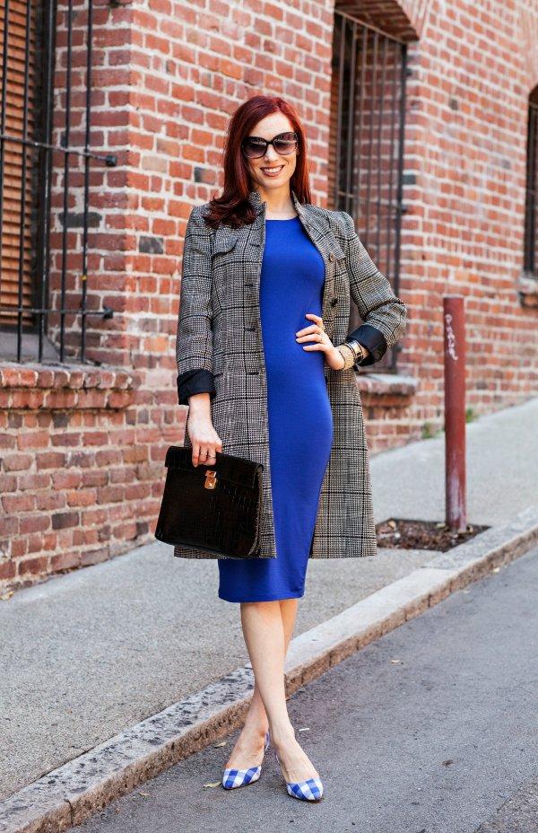 Dress and Long Jacket