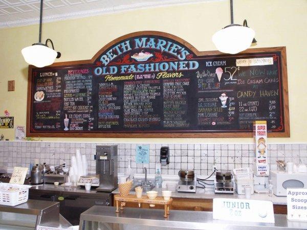 Beth Marie's Old Fashioned Ice Cream, Denton, Texas