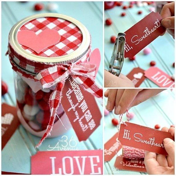 Valentine Gift Jar