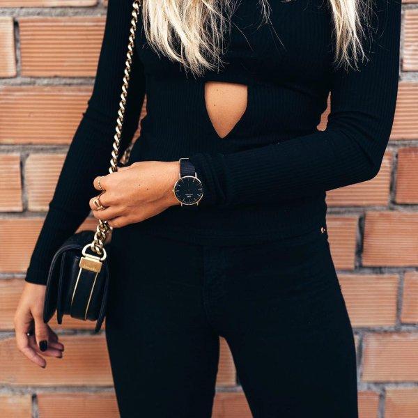 black, clothing, lady, footwear, fashion,