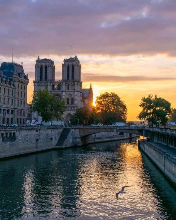waterway, sky, reflection, water, landmark,
