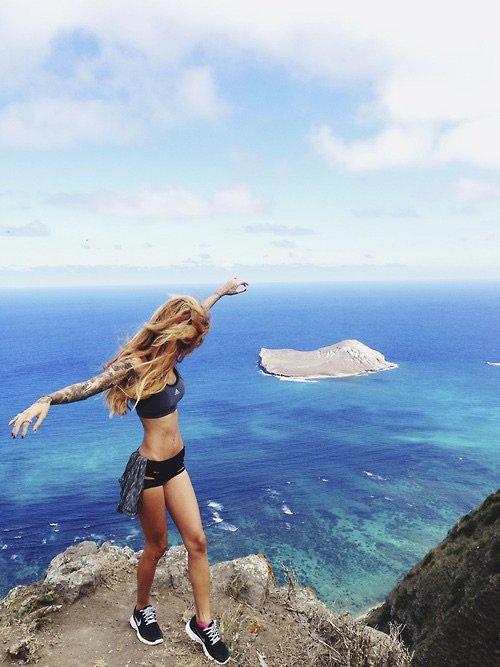 sea, color, blue, vacation, water,