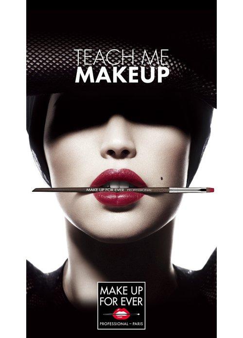 Make Up Forever, face, hair, lip, nose,