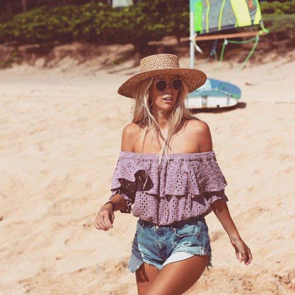clothing, vacation, child, sun hat, portrait photography,