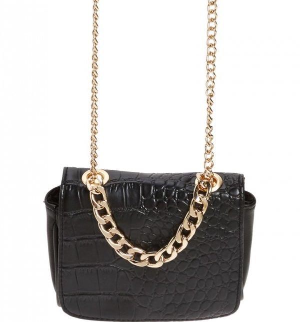 handbag, bag, shoulder bag, brown, chain,