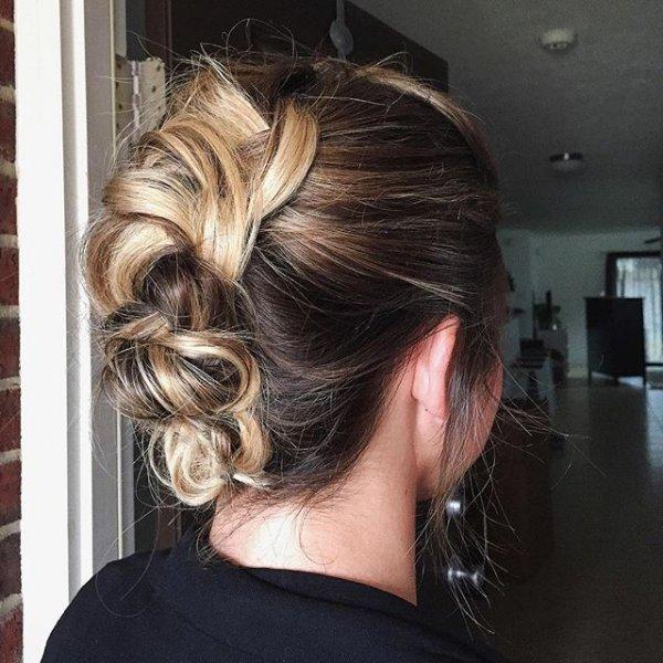 hair, hairstyle, long hair, blond, layered hair,